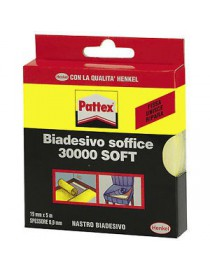 PATTEX 30000 SOFT BIADESIVO SOFFICE MM19X10M