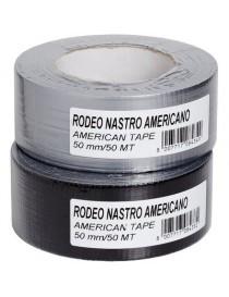 NASTRO AMERICANO RODEO H/MM50X25M NERO