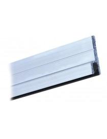 PROFILO PORTASPAZZOLINO TESTA 5 mm VERTICALE VG/M.3 ALLUMINIO GREZZO