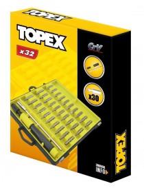 TOPEX 39D555 SET 32 INSERTI PRECISIONE IN VALIGETTA