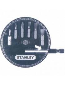 STANLEY 1-68-737 SET 7 INSERTI CON ADATTATATORE