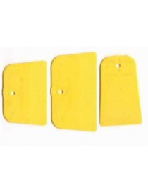 SPATOLA ABS GIALLO -FLEX-