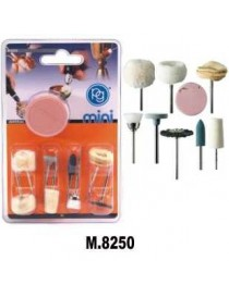PG M.8250 KIT 9 ACCESSORI PER LUCIDATURA PULITURA