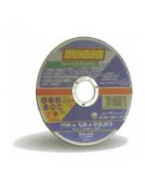 MOLA ABR. X INOX TW 115X1.0 C.PIANO GRINDING