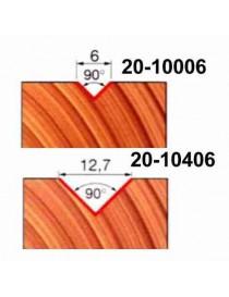 FRESA FREUD 20-10406 X INTAGLI A V G.6 12,7X11,1