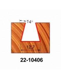 FRESA FREUD 22-10406 CODA DI RONDINE G.6 12,7X12,7