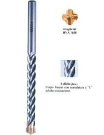 PUNTE CILINDR.4 TA./4 ELIC. MAX4 4X75