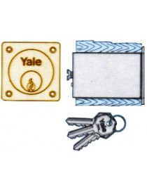 CILINDRO YALE 2252245 COPPIA X SER.APP