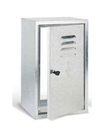 ARMADIETTO CONTAT.GAS CM 60X40X25 INOX KIT