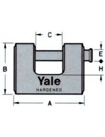 LUCCHETTO YALE 160ME