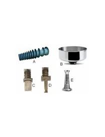 FILTRO INOX FORI MM1,5 SPREMIP N5 5303N (E)