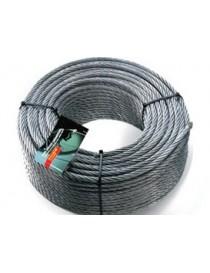 FUNE ACCIAIO INOX 49 FILI ROTOLO/M.100 AISI 316