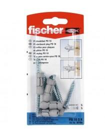 TASSELLI FISCHER PD 10SK +VITI 5X40 BL.5+5