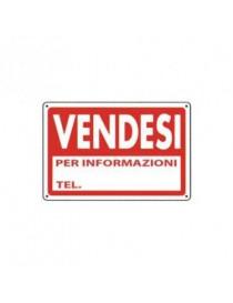 CARTELLO PVC 30X20 VENDESI