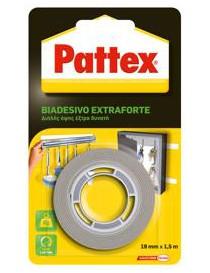 NASTRO BIADESIVO EXTRAFORTE PATTEX 19MM X 15M