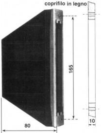 CASSETTA X AVVOLGIT.SEMINCASSO PL165/100 M.5/6
