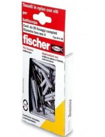 TASSELLI FISCHER N 4x35/10 S K BLISTER PZ.20