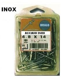 RIVETTI INOX C/CHIO.INOX 3,2X8 BL/PZ.75