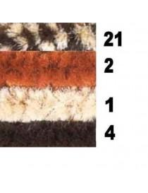 CINIGLIA EXTRA DIAMETRO 42 N.4 MARRONE