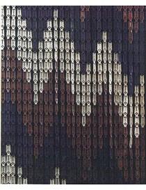 TENDA A PIASTRINE PVC -COMPOS- 140X230 ZIG-ZAG