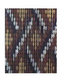 TENDA A PIASTRINE PVC -COMPOS- 100X220 TRECCIA