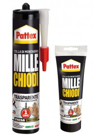 PATTEX MILLECHIODI TRASPARENTE tubo 200g