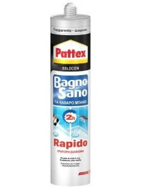 PATTEX BAGNOSANO RAPIDO TRASPARENTE